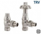 Crocus Satin Nickel Thermostatic Radiator Valve
